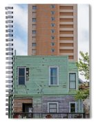 Old Before New High Rise Spiral Notebook