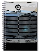 Old Benz Spiral Notebook