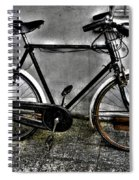 Old Bicycle Spiral Notebook