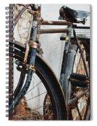 Old Bike II Spiral Notebook