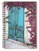 Old Blue Doors Spiral Notebook