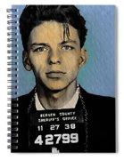 Old Blue Eyes - Frank Sinatra Spiral Notebook
