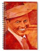 Old Blue Eyes Spiral Notebook