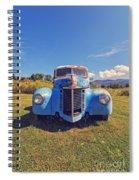 Old Blue Truck Vermont Spiral Notebook