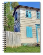 Old Board House Spiral Notebook