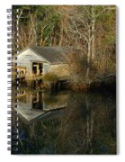 Old Boat House Spiral Notebook