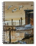Old Boathouse Spiral Notebook
