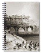 Old Boats Bridge, Limerick, Ireland Spiral Notebook