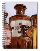 Old Bottles Spiral Notebook