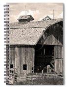 Old Boulder County Colorado Barn Spiral Notebook