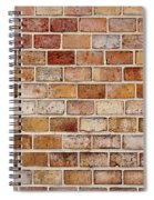 Old Brick Wall Spiral Notebook