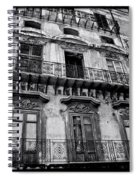 Old Building In Sicily Spiral Notebook