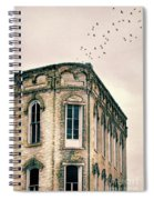 Old Building Spiral Notebook