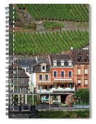 Old Buildings And Vineyards Spiral Notebook