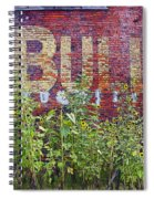 Old Bull Durham Sign - Delta Spiral Notebook
