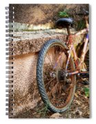 Old Bycicle Spiral Notebook