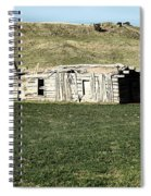 Old Cabin On The Plains Spiral Notebook