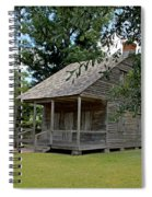 Old Cajun Home Spiral Notebook