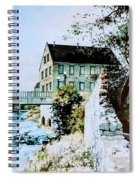 Old Cambridge Mill Spiral Notebook