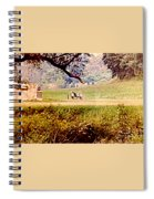 Old Cannon At Gettysburg Spiral Notebook