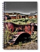 Old Car At Bodie Spiral Notebook