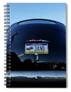 Old Car Trunk With Artistic Background Spiral Notebook
