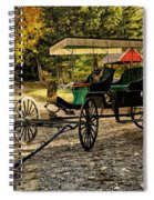 Old Cart - Old Movie Edition Spiral Notebook