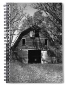 Old Cedar Barn Spiral Notebook