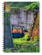 Old Cement Walls Spiral Notebook