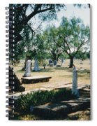 Old Cementery Spiral Notebook
