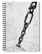 Old Chain Spiral Notebook