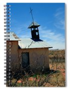 Old Chapel On Route 66 In Newkirk Nm Spiral Notebook