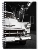 Old Chevy Connecticut Spiral Notebook