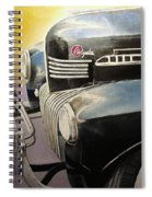 Old Chrysler Spiral Notebook
