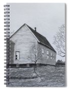 Old Church At Beatties  Ford Spiral Notebook