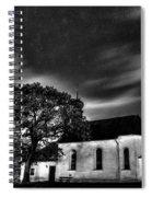 Old Church B/w  Spiral Notebook