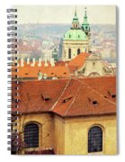 Old Church In Prague Spiral Notebook