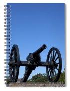 Old Civil War Cannon Spiral Notebook