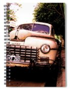 Old Classic Dodge, On The Streets Of Buenos Aires Spiral Notebook