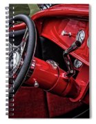 Old Classic Interior Spiral Notebook