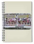 Old Clowns And Soft Toys By Kaye Menner Spiral Notebook