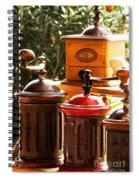 Old Coffee Grinders Spiral Notebook