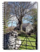 Old Cottage  Spiral Notebook