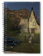 Old Cottage Spiral Notebook