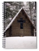 Old Country Church Spiral Notebook