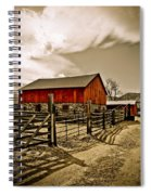 Old Country Farm Spiral Notebook