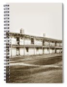Old Cuartel. Mexican Soldiers Barracks Monterey Circa 1885 Spiral Notebook