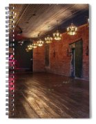 Old Dance Hall Spiral Notebook
