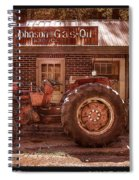 Old Days Vintage Spiral Notebook