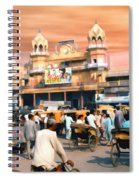 Old Dehli Spiral Notebook